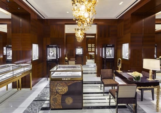 Graff reopens boutique on Sloane Street, London