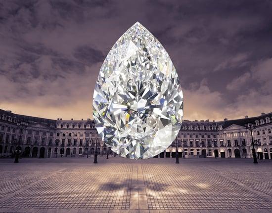 Graff unveils a 105.07 carat D Flawless pear shape diamond