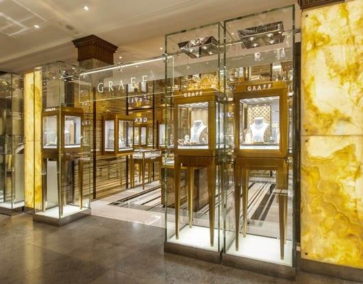 Jewellery News – Graff Diamonds opens at Harrods' Fine Jewellery Room