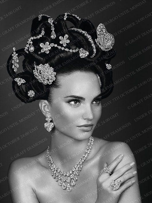 Graff Diamonds re-creates the famous Hair and Jewel