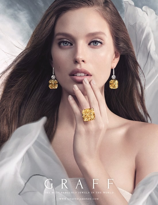 "Jewellery News – Graff launches ""Elements"" advertising campaign"