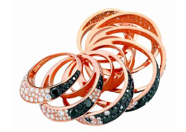 de GRISOGONO introduces Jiya rings at BASELWORLD