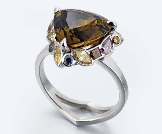 Spectacular gems, innovative designs on show at Goldsmiths' Fair