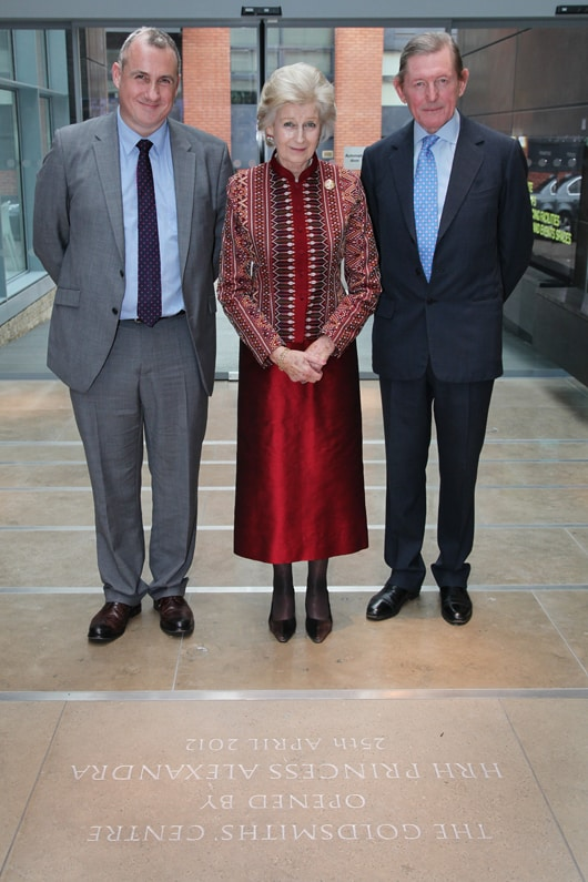 HRH Princess Alexandra opens Goldsmiths' Centre