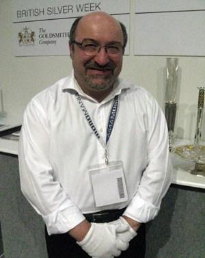 British Silver Week 2011, silversmithing, UK, Brett Payne, Rebecca Joselyn, Malcolm Appleby, Managing Director Gordon Hamme