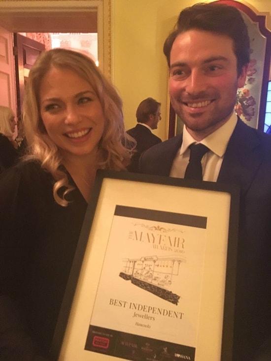 Hancocks London scoops 'Best Independent Jeweller' award