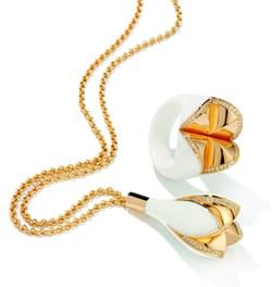 Henrich Denzel, platinum, diamonds, Fiori collection, inhorgenta europe 2010, Corian, Latest Jewellery Collections