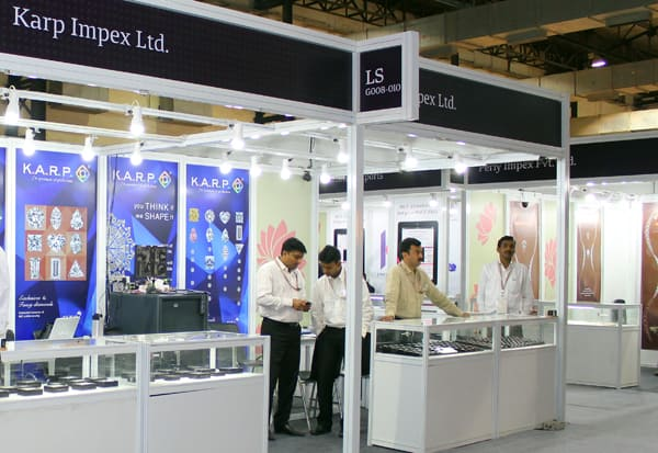 Manufactured pieces sold well at Mumbai fair, stones sales slower