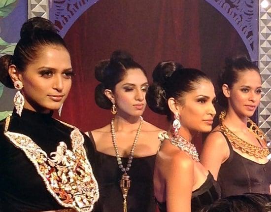 Grand Finale IIJW catwalk show presents India's best jewellery designs