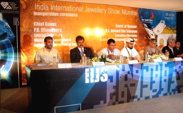 IIJS opens in tight security, Indian export growth seen