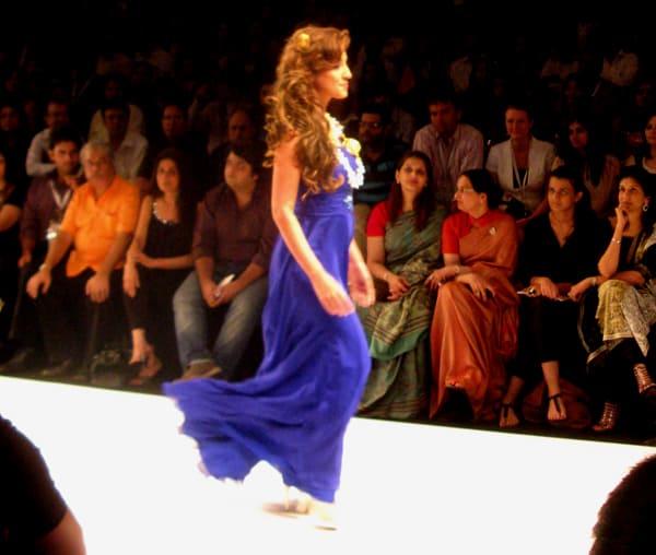 India's IIJW catwalk celebrates Japanese designer