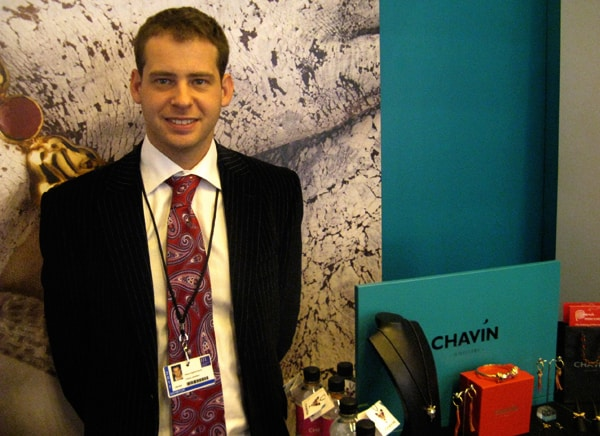 Ethical silver jeweller CHAVIN launches at IJL