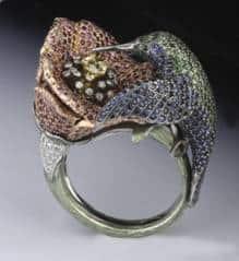 IJL Special Award, Fine Jewellery, Stan Somerford, George Pragnell Hummingbird ring, Goldsmiths' Craftsmanship and Design Awards