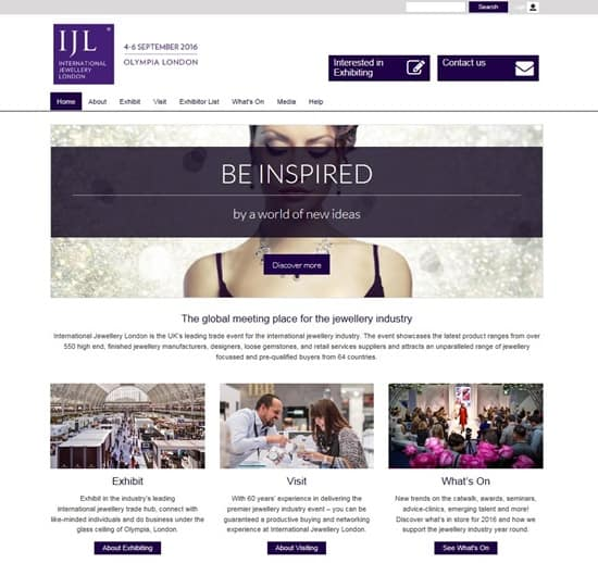 IJL launches new innovative website for 2016