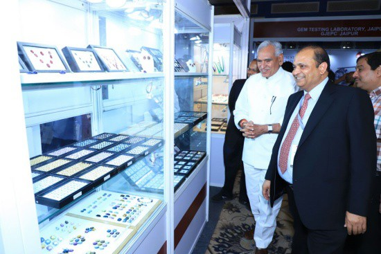 Leading official opens India Gemstone Week
