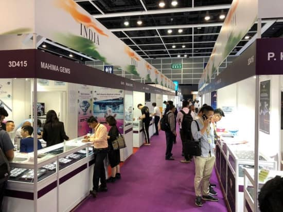 Strong Indian exhibitor turnout at Hong Kong June jewellery fair