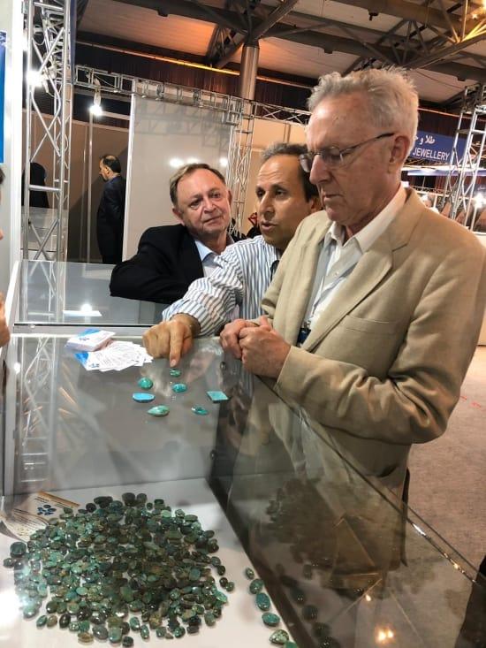 Iran's GEMKISH showcases craftsmanship in turquoise, agate