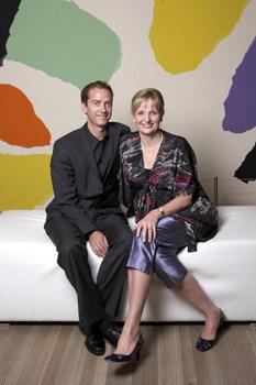 Karin and Brook Adcock