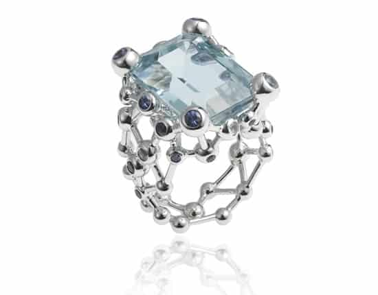Fusion Aquamarine Ring