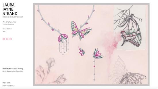 Designer Laura Jayne Strand launches new website