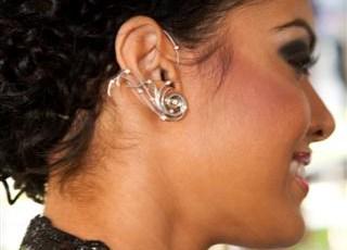 Katie's Rowland's ear pieces (2009)