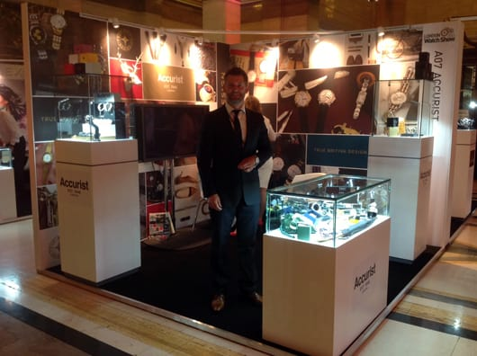 Exhibitors upbeat as London Watch Show wraps up