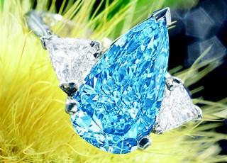 Millennium Blue Diamond Ring