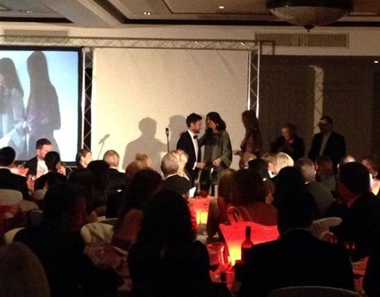 C.W. Sellors wins NAJ Member of the Year