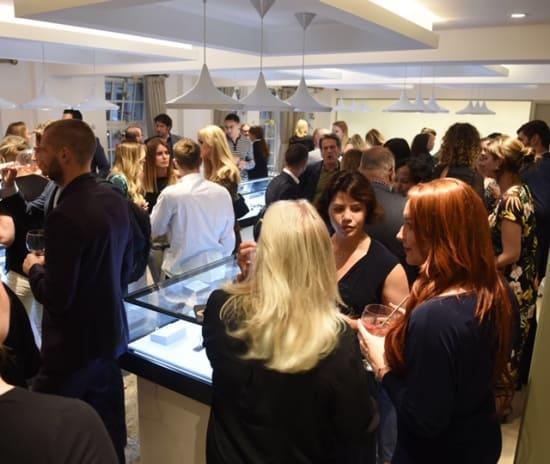 The NAJ sponsors London Fashion Week jewellery showroom