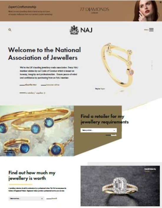 NAJ website relaunch keeps members fit for the future