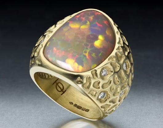 French-born designer Ornella Iannuzzi crafts statement jewels