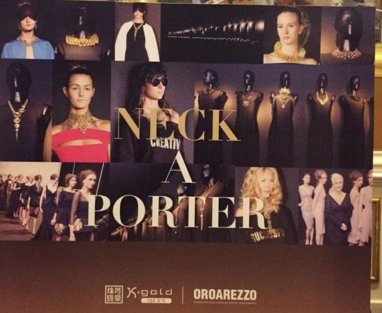 "OROAREZZO showcased ""Made in Italy"" jewellery at exhibition in China"