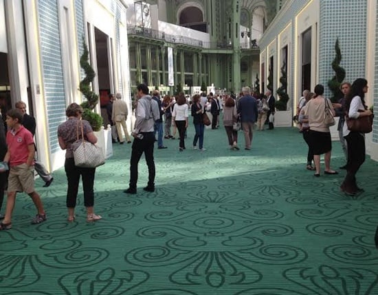 Visitors to the Biennale