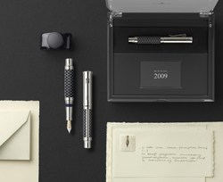 """Faber-Castell unveils precious """"Pen of the Year 2009"""""""