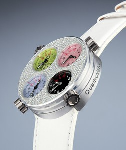Meccaniche Veloci watches combine jewellery with engines