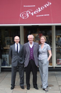Prestons of Bolton, UK's largest jewellery buying group, The Company of Master Jewellers, Managing Director Karl Massey