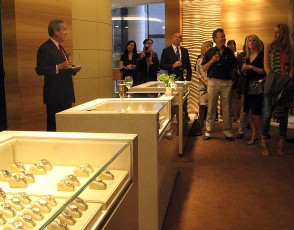 Rolex boutique launches at exclusive London address