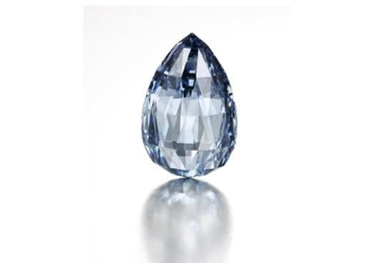 Sotheby's sells blue diamond for world record $10.9 million
