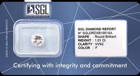 Gem lab SGL launches diamond seal