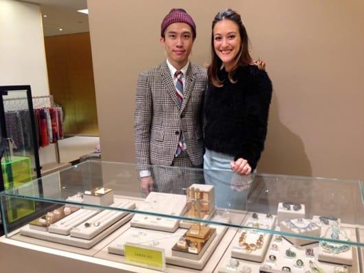 Sarah Ho launches in Harvey Nichols Hong Kong