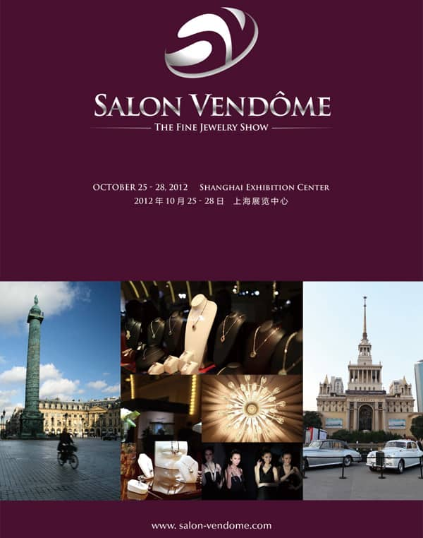 Salon Vendome – new fine jewellery show in Shanghai in October