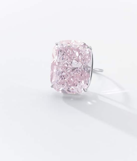 """Sotheby's Geneva to offer """"The Raj Pink"""""""