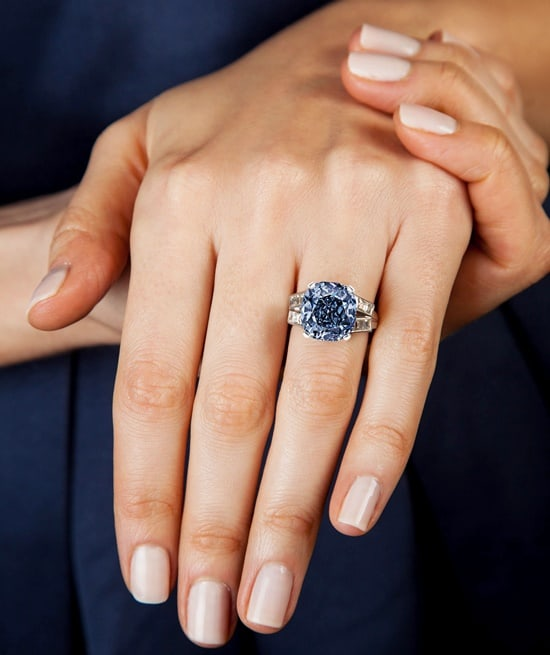 Sotheby's to offer Shirley Temple blue diamond