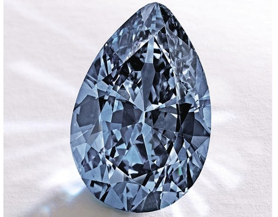 Sotheby's sell blue diamond for world record auction price