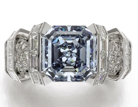 Sotheby's to auction 8-carat Sky Blue Diamond in Geneva in November
