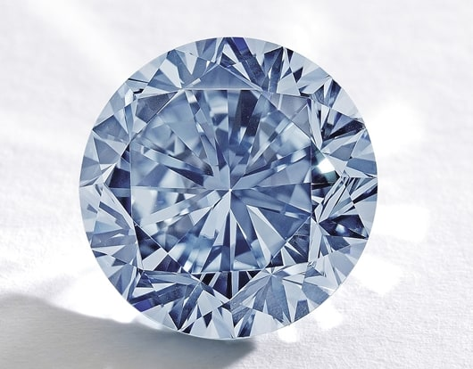 Jewellery News-Sotheby's to auction rare blue diamond in Hong Kong