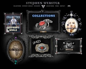 Stephen Webster, International luxury jewellery, www.stephenwebster.com, the signature style of the glam rock jewellery brand.