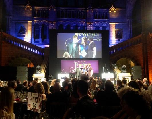 UK jewellers toast top talent at glamorous awards bash