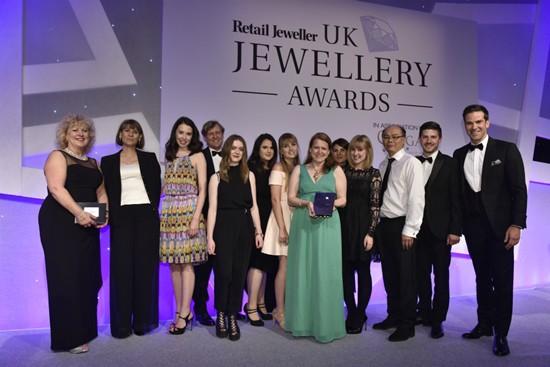 Winners of 2016 UK Jewellery Awards revealed