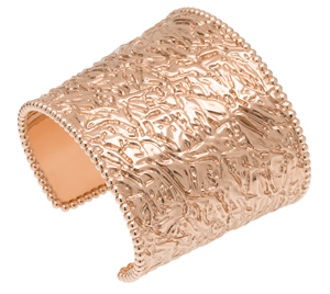 Perlée jewellery collection, Van Cleef and Arpels, white and pink gold